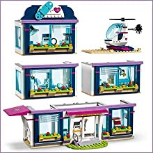 Lego 41318 Friends Heartlake Hospital Construction Toy Lego Amazon