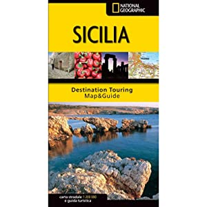 Sicilia - Carta Stradale e Guida Turistica