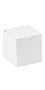 """4 x 4 x 4"""" White Gift Boxes"""