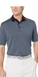 Performance Stripe Polo Shirt