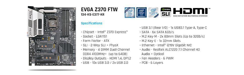 EVGA E377 IO Shield