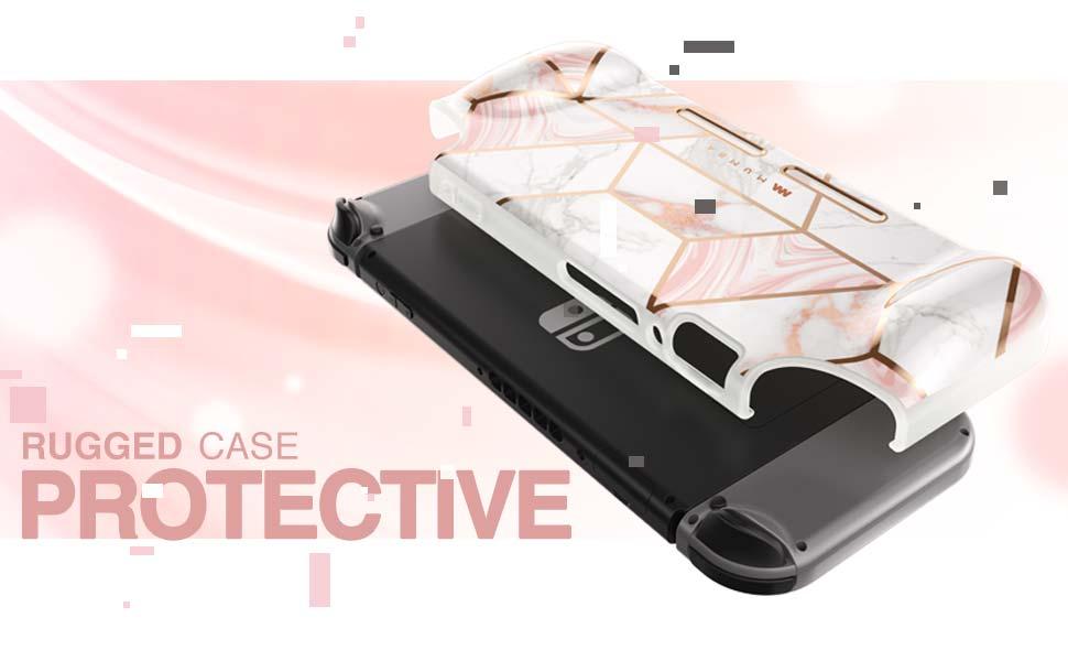 Mumba Girl Power Rugged Stylish Fashion Protective case for Nintendo Switch