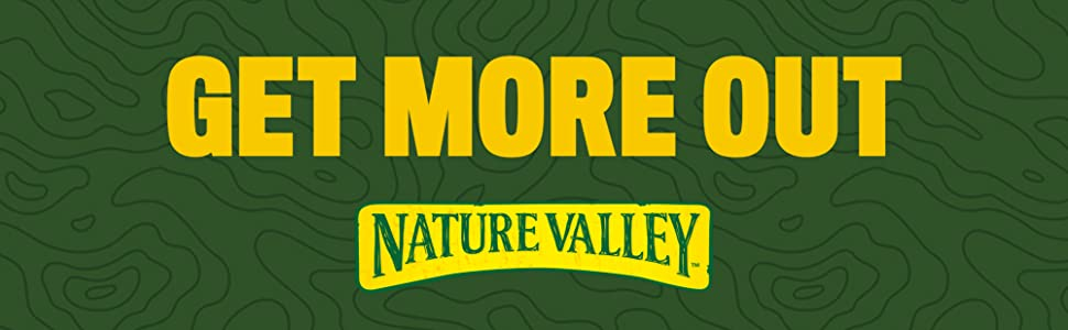 """""""Get Out More Nature Valley"""" banderoll"""