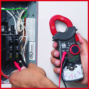 Gardner Bender Analog Multimeter, circuit breaker test