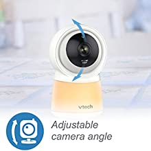Manually adjustable camera