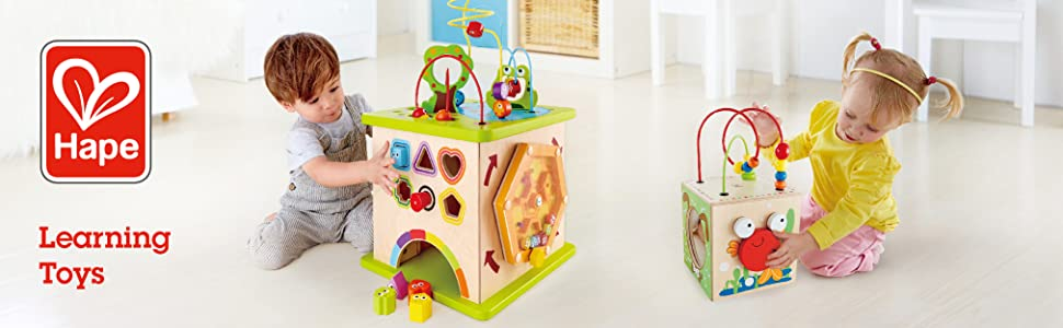 Hape Toys, Toys, Play, Wood, Kids, Preschool, Toddler, Baby, Learning, Educational, Blocks, Puzzle