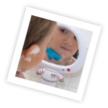 Mirror helps to promote self-awareness and recognition