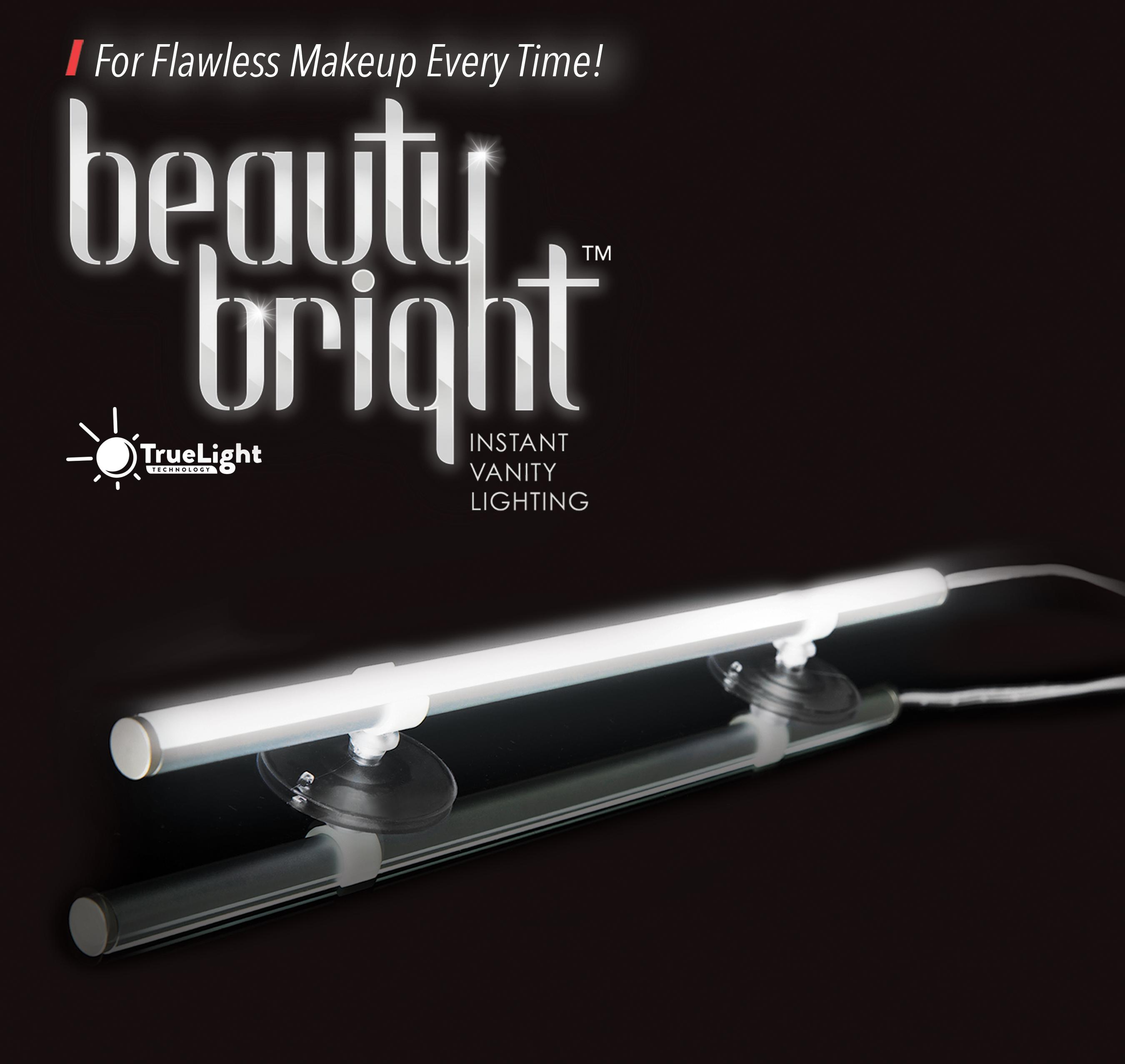 Beauty Bright Instant Vanity Lighting Dimmable Led Mirror