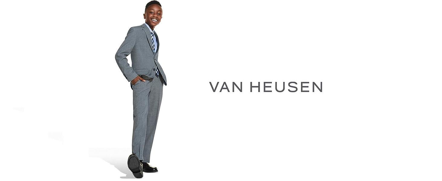 van heusen, boys, dresswear, suit set, boys dresswear, boys suit set, formal, boys formal wear, suit