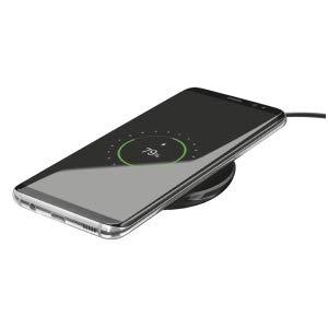 Trust Urban Primo - Cargador inalámbrico para Smartphones compatibles con Qi, Negro