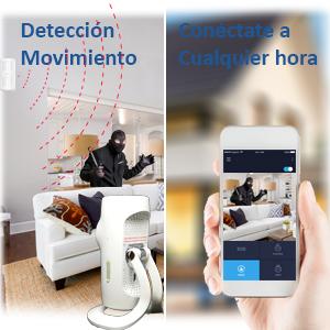 DIYtech W07 Pro Kit de Seguridad, Blanco
