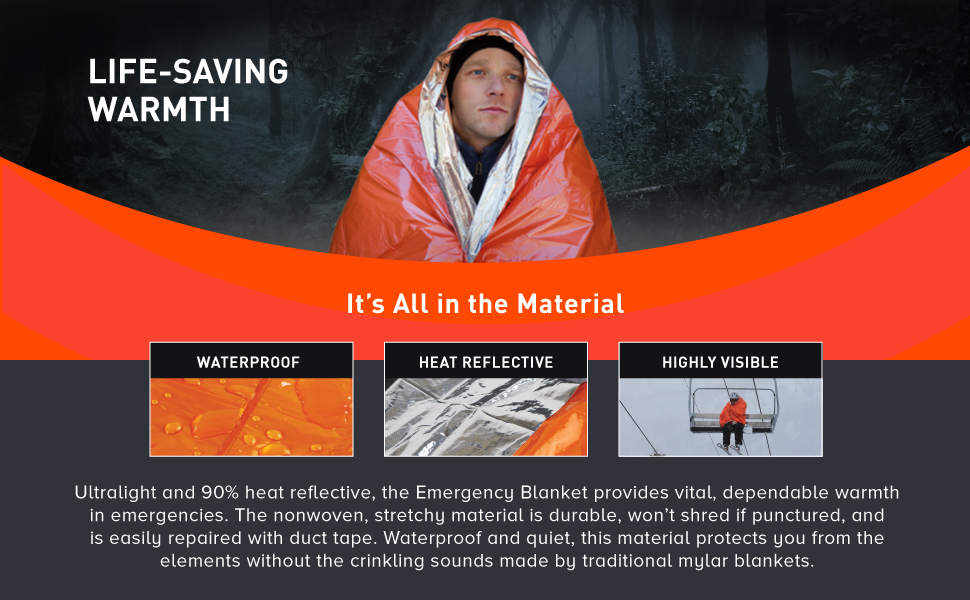 Waterproof Heat Reflective Highly Visible
