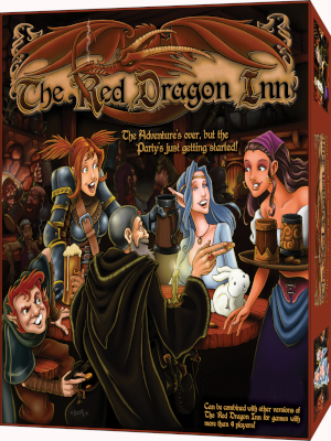 game; board game; card game; red dragon; box; packaging