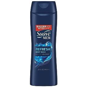 Suave Men Refresh Body Wash