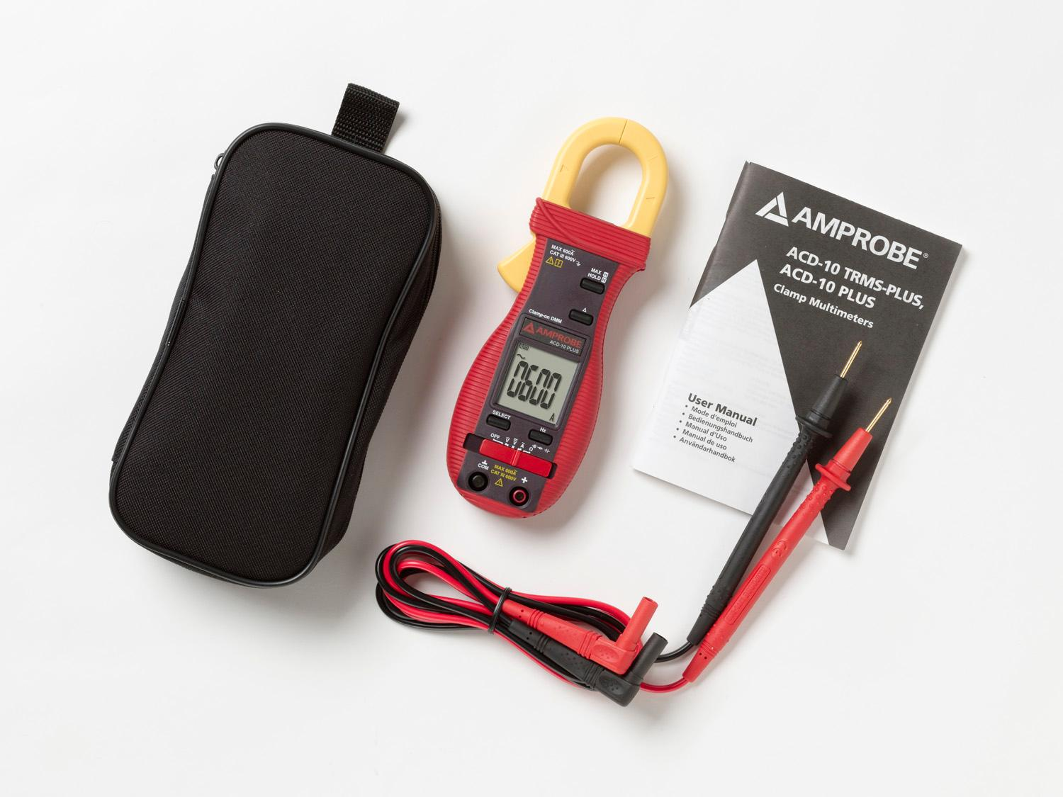 Amprobe Acd 10 Plus 600a Clamp Multimeter Amazon Ca
