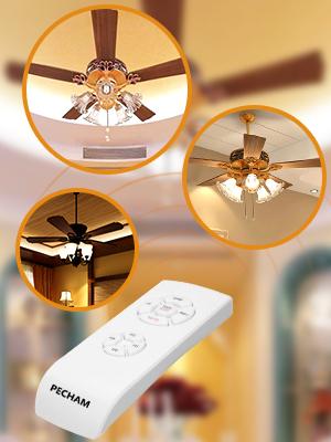 PECHAM [Control remoto para ventilador de techo] Control remoto ...