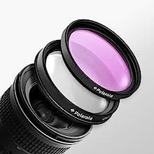 double threaded polaroid optics filter