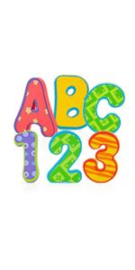 36 Piece Bath Tub Alphabet Set