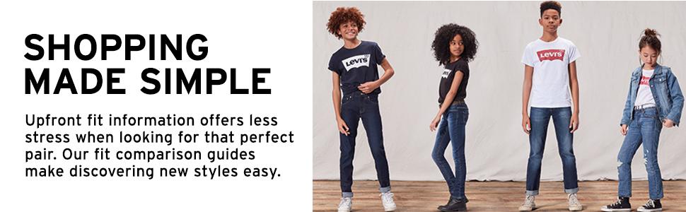 levis girls kids denim jean shorty shorts