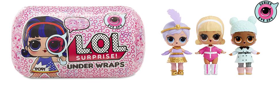 LOL surprise innovation poupée jouet fille déballer collection accessoires loupe code secret