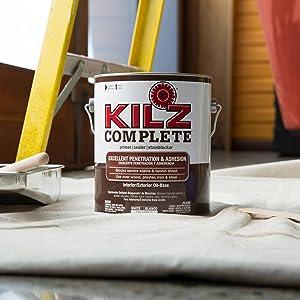 KILZ Complete HighAdhesion and Penetration InteriorExterior Oil