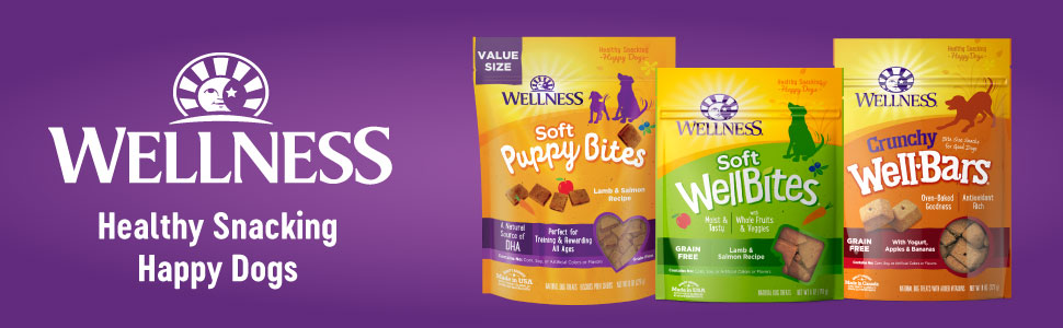 Wellness Soft and Crunchy Dog Treats Perfect for Training