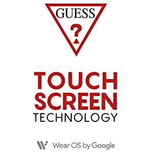 touch screen watch; connect watch; guess watch; androidwear; tech watch; smart watch