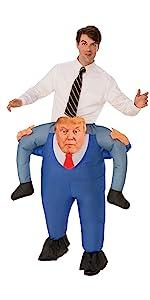 funny trump costume, dump trump, maga