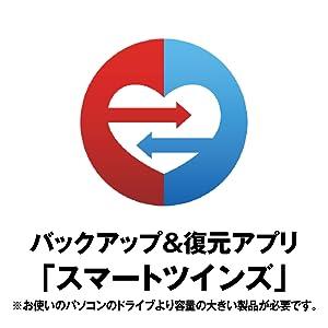 バックアップ&復元アプリ「スマートツインズ」