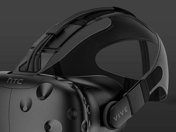 HTC VIVE VR Headset Ergonomics