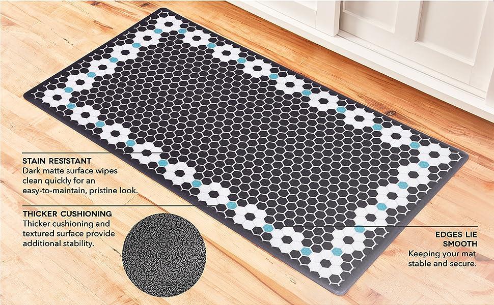 wellness mats, comfort mats, kitchen, laundry room, garage, foam mat