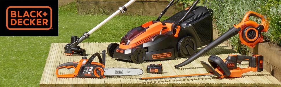 BLACK+DECKER GTC3655PCLB-XJ - Cortasetos a batería 36V, 55 cm, sin cargador y batería: Amazon.es: Bricolaje y herramientas