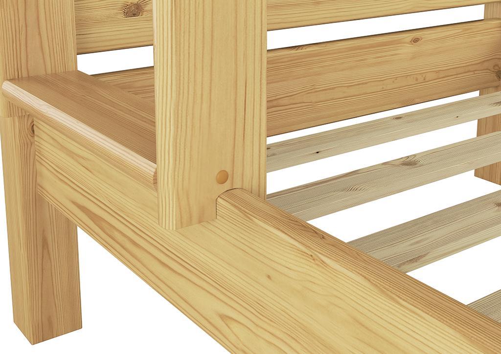 Etagenbett Nische 100 : Erst holz etagenbett für erwachsene nische cm ohne