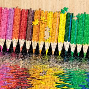 pencil pushers puzzle, 500 piece puzzle, springbok 500 piece puzzle