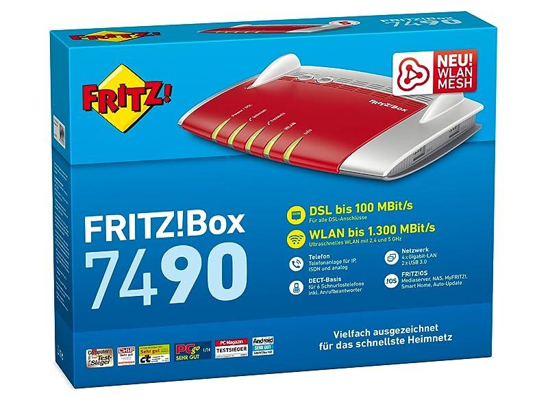 FRITZ!Box 7490 Verpackung
