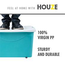 long lasting & durable HOUZE - 60L Motif Storage Box