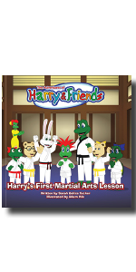 Karate lessons, martial arts book for kids, self-discipline, respect, focus, goal-setting