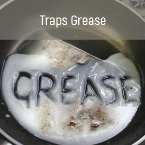 Traps Grease, Reduces Buildup, Easy To Clean, Range Hood Filters, Washable Filters, Aluminum Mesh
