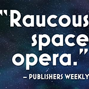 Space Unicorn Blues, space opera, Publishers Weekly, book review