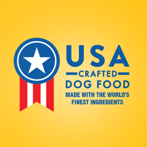 Each PEDIGREE Dog Food recipe is proudly made in the USA with the world's finest ingredients