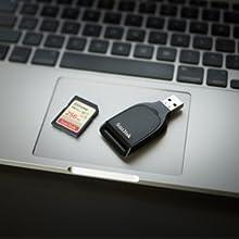 SanDisk Extreme SD 150mb - 128GB-256GB