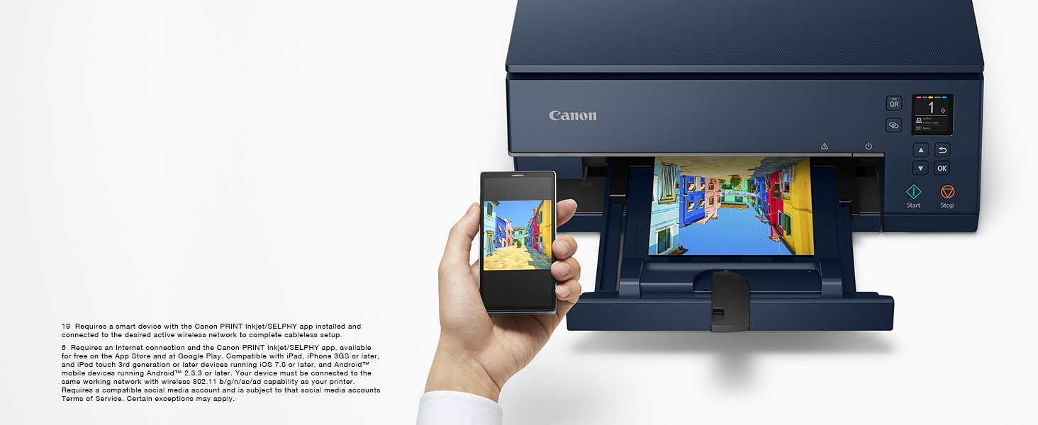 Wireless Connect with Canon PRINT App
