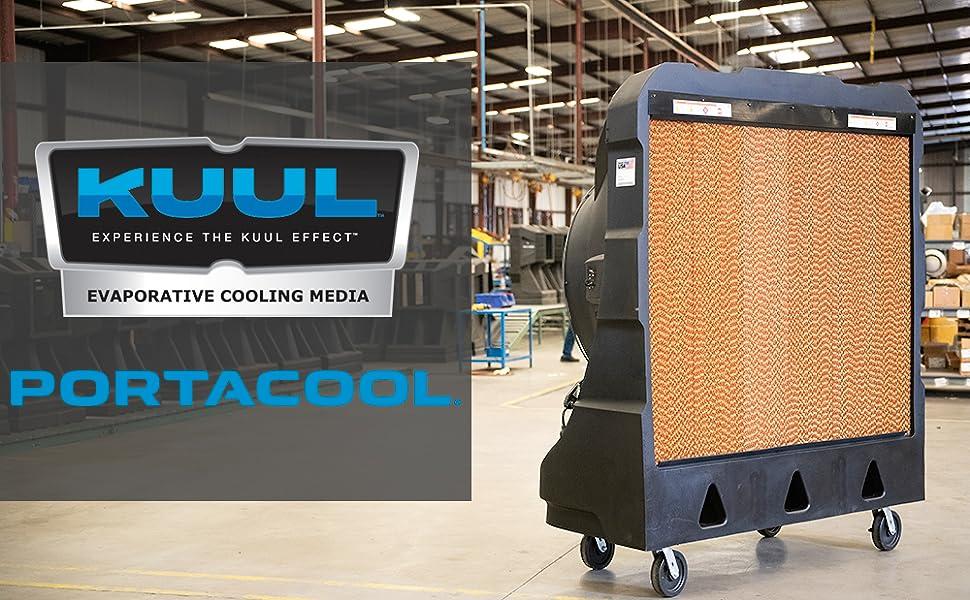 "PARKULJ24000 3 Pk PORTACOOL Evaporative Cooling Media,24/""Hx6/""Wx12/""D"