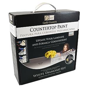 Giani Countertop Paint Kit White Diamond Amazon Com