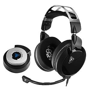 Elite Pro 2 de Turtle Beach + sistema de sonido de juego de rendimiento profesional SuperAmp para PS4 Pro y PS4