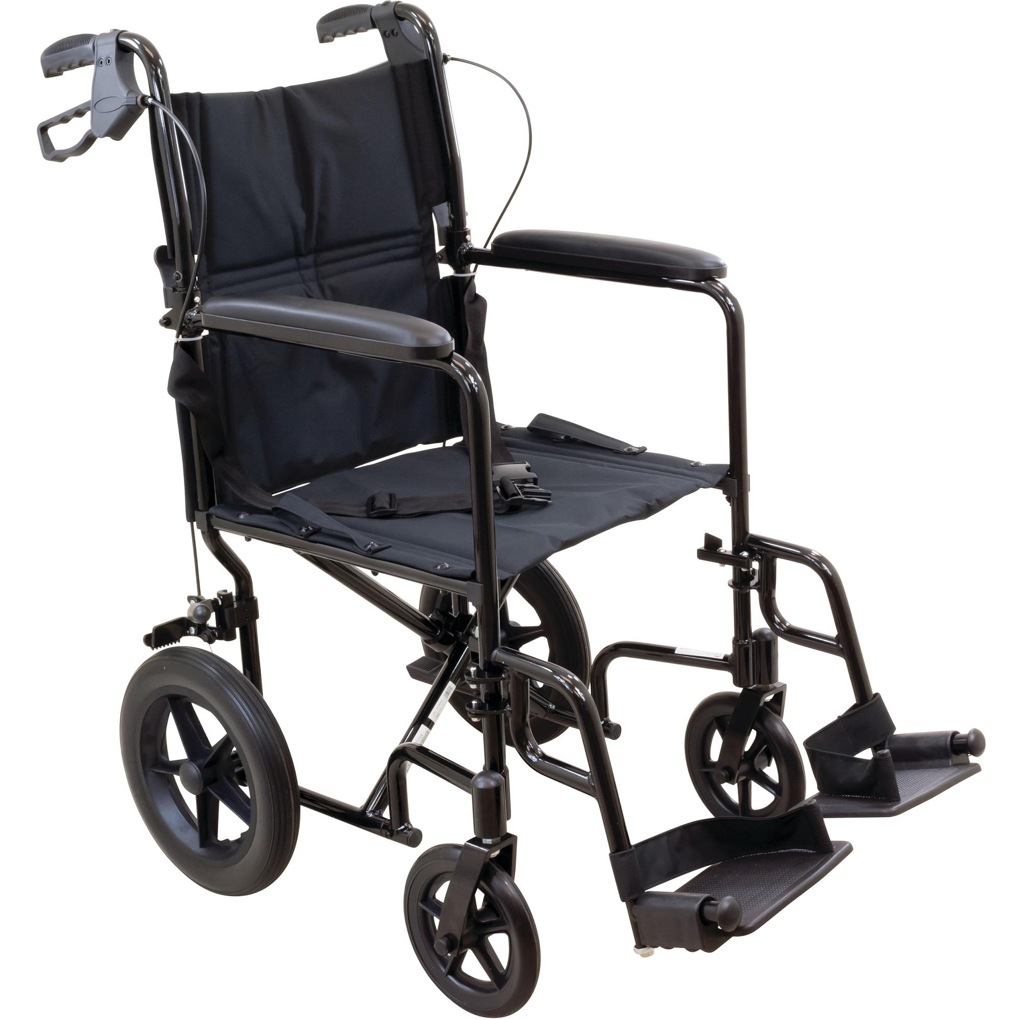 Amazon ProBasics Transport Chair Wheelchair Aluminum 19