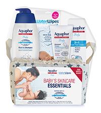 aquaphor baby skincare essentials, gift set
