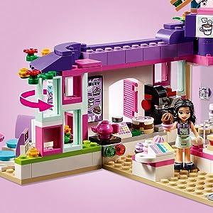 Amazoncom Lego Friends Emmas Art Café 41336 Building Set 378