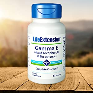 A complete spectrum of vitamin E,Potent antioxidant protection,Support for arteries and nerves
