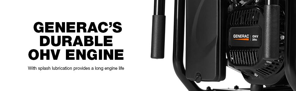 Generac, Portable, OHV Engine
